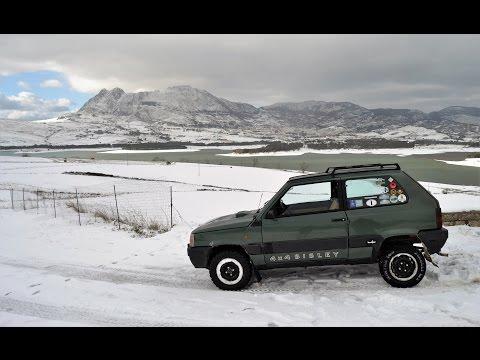 Perché la Fiat Panda 4X4 Sisley è un'auto inarrestabile