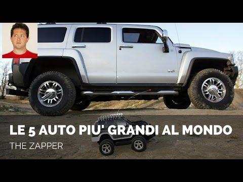 Le 5 AUTO più GRANDI al MONDO | The Zapper
