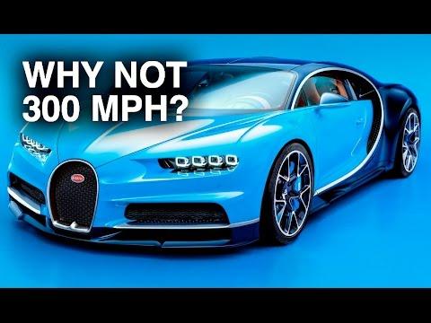 Perché la Bugatti Chiron non può raggiungere i 500 km/h [VIDEO]