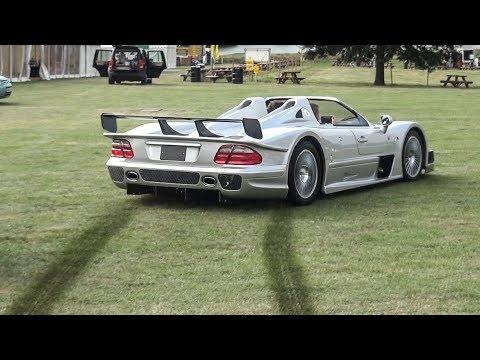 Se avete una Mercedes CLK GTR Roadster potete portarla a fare i rally [VIDEO]