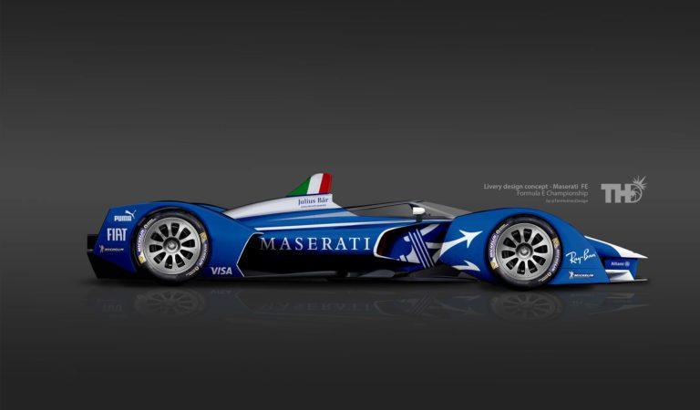 Formula E | Maserati, potrebbe essere così l'elettrica da corsa?