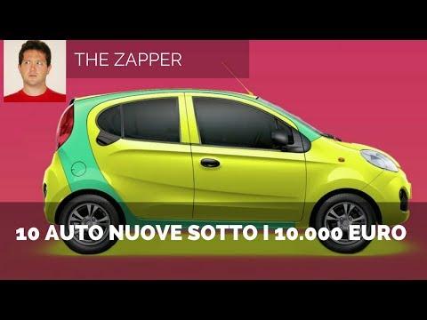 10 AUTO NUOVE sotto i 10.000 euro da acquistare in Italia | The Zapper