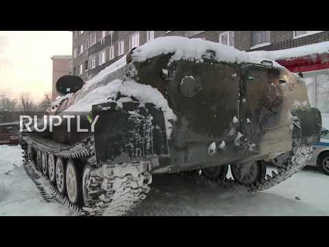 Russia, ruba un carro armato e va a fare la spesa: arrestato