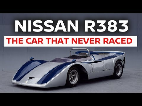 Nissan R383, il prototipo da 700 CV che non ha mai potuto correre [VIDEO]