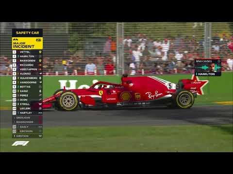 F1 | Le migliori azioni del GP d'Australia 2018, sia per gli esperti che per i pigri [VIDEO]