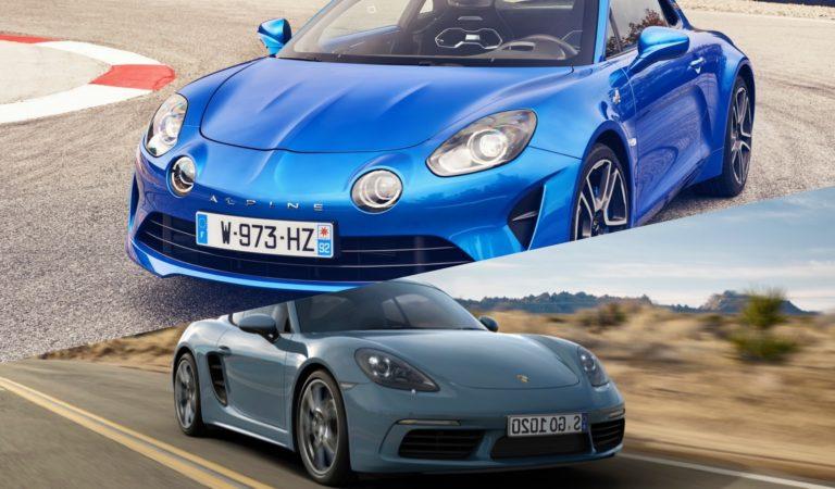 Alpine A110 VS Porsche 718 Cayman: quale preferisci?