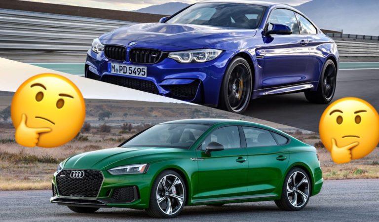 BMW M4 CS VS Audi RS5 Sportback: quale preferisci?