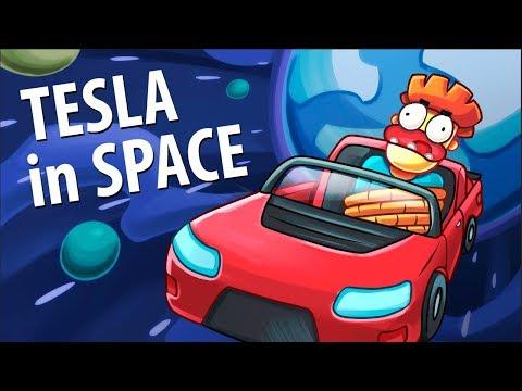 Cosa fare se state per essere lanciati nello spazio a bordo di una Tesla [VIDEO]