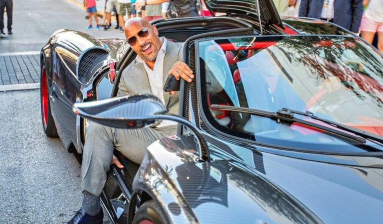 Tutte le supercar di 'The Rock' Dwayne Johnson