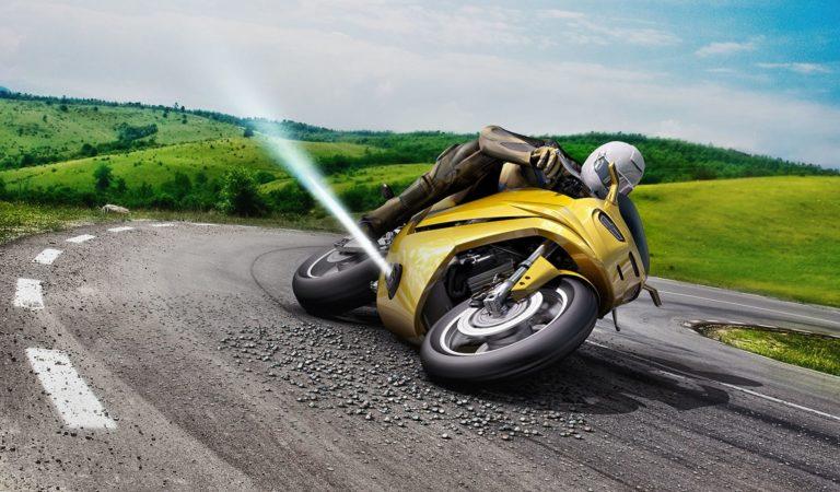 Bosch sta preparando una tecnologia che può evitare le cadute in moto