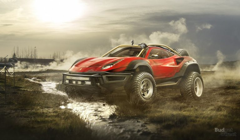 5 Supercar immaginate in stile Off-Road [RENDER]
