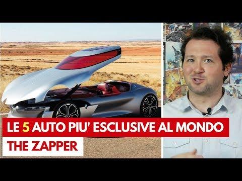 Le 5 AUTO più ESCLUSIVE al MONDO   The Zapper