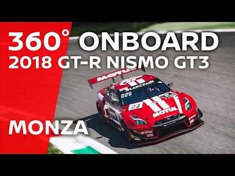 Un giro del Circuito di Monza a 360 gradi (letteralmente) con la NISMO GT-R