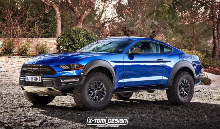 Ecco come sarebba una Ford Mustang Raptor, se servisse