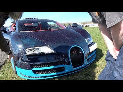 Come schiantare una Bugatti Veyron da 2 milioni di euro andando dritti [VIDEO]