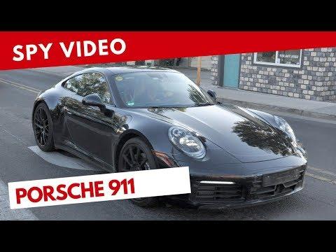 Il nuovo alettone della Porsche 911 è molto funzionale [VIDEO]