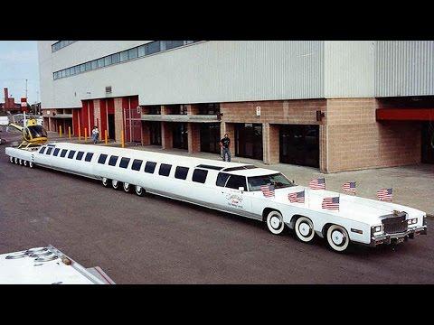 Le 10 Limousine più lunghe al mondo [VIDEO]