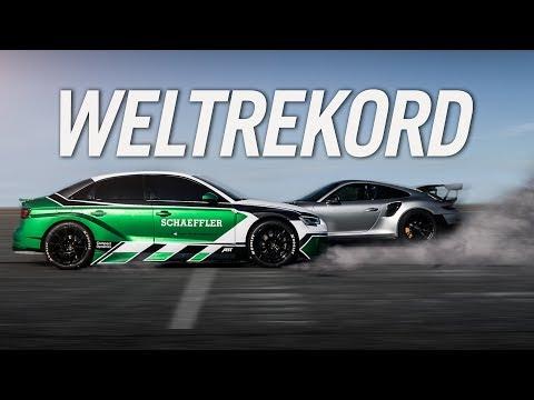 Come battere una Porsche GT2 RS, in retromarcia [VIDEO]