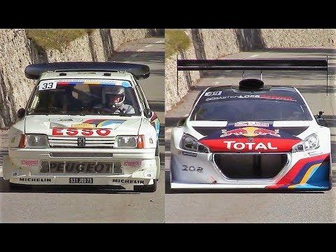 Peugeot 205 T16 Evo 2 VS 208 T16 Pikes Peak, confronto finale [VIDEO]