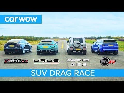 La sfida finale tra SUV: dalla Lamborghini Urus alla Tesla Model X [VIDEO]
