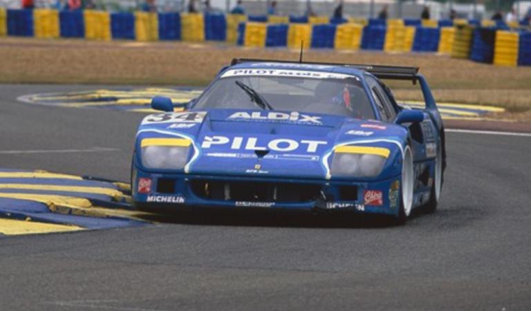 È all'asta una rarissima Ferrari F40 LM, ovviamente da Sotheby