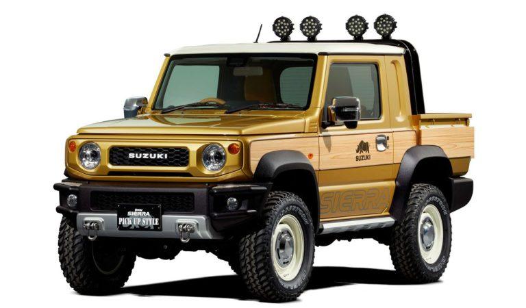 Il Suzuki Jimny è perfetto per lo stile retrò e le apocalissi, come mostrano i concept