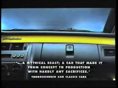 Lo spot con cui venne presentata la Fiat Coupé nel Regno Unito [VIDEO]