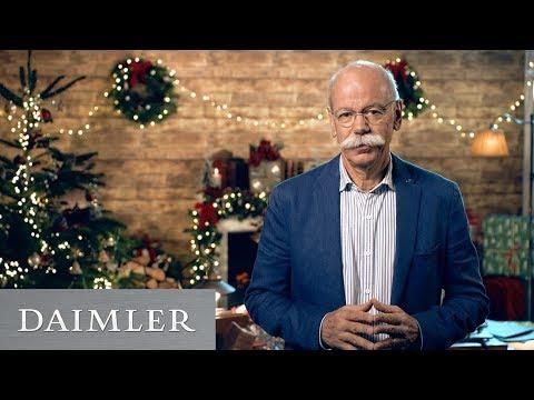 Anche Dieter Zetsche (Presidente Daimler e Mercedes) incontra Babbo Natale [VIDEO]