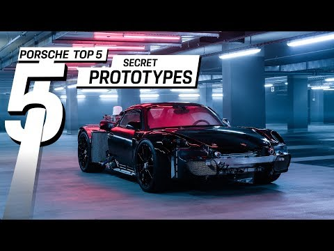 I 5 prototipi segreti che Porsche non ha mai prodotto [VIDEO]