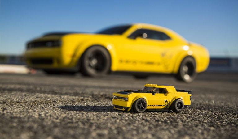 La Dodge Challenger SRT Demon si fa a misura di bimbo grazie a LEGO