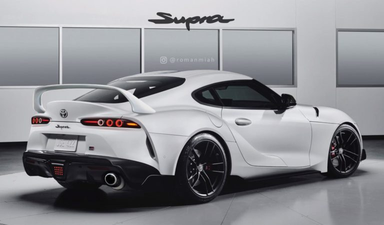 La nuova Toyota Supra immaginata come la generazione precedente [RENDERING]