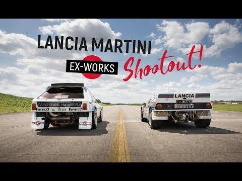 Lancia 037 contro Delta S4: sfida tra leggende italiane del Rally [VIDEO]