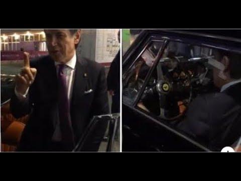 Anche il nostro Primo Ministro Giuseppe Conte non sa resistere al fascino di una Ferrari [VIDEO]