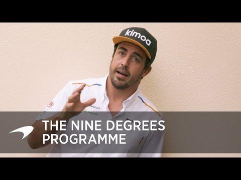 La regola dei «9 gradi» grazie alla quale Fernando Alonso si preparerà al meglio per la Indy 500 [VIDEO]