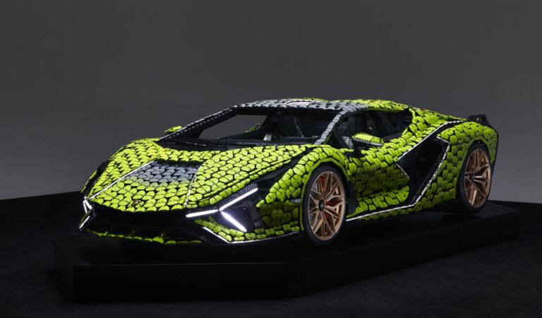 Chi non vorrebbe una Lamborghini Sián FKP 37 fatta interamente di Lego? (VIDEO)