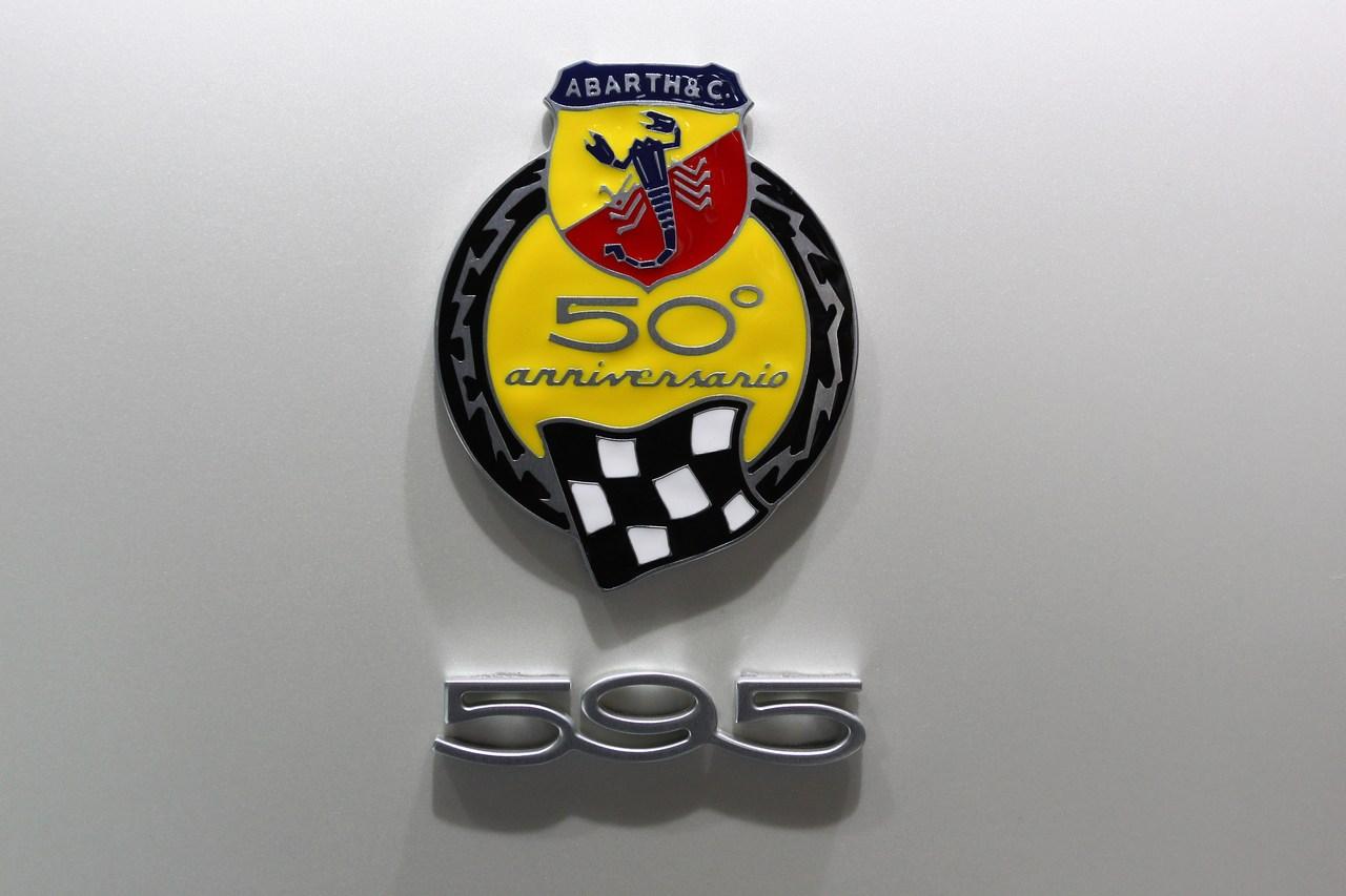 Abarth 595 50 anniversario - Salone di Francoforte 2013