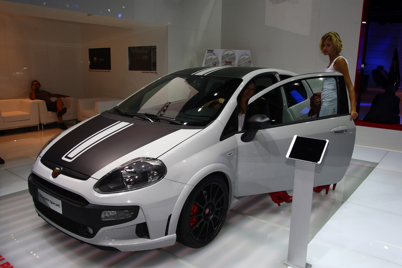 Abarth Punto Supersport Salone Di Francoforte 2011 4 6