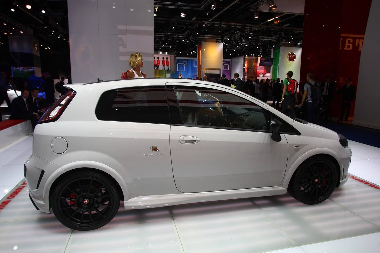 Abarth Punto Supersport Salone Di Francoforte 2011