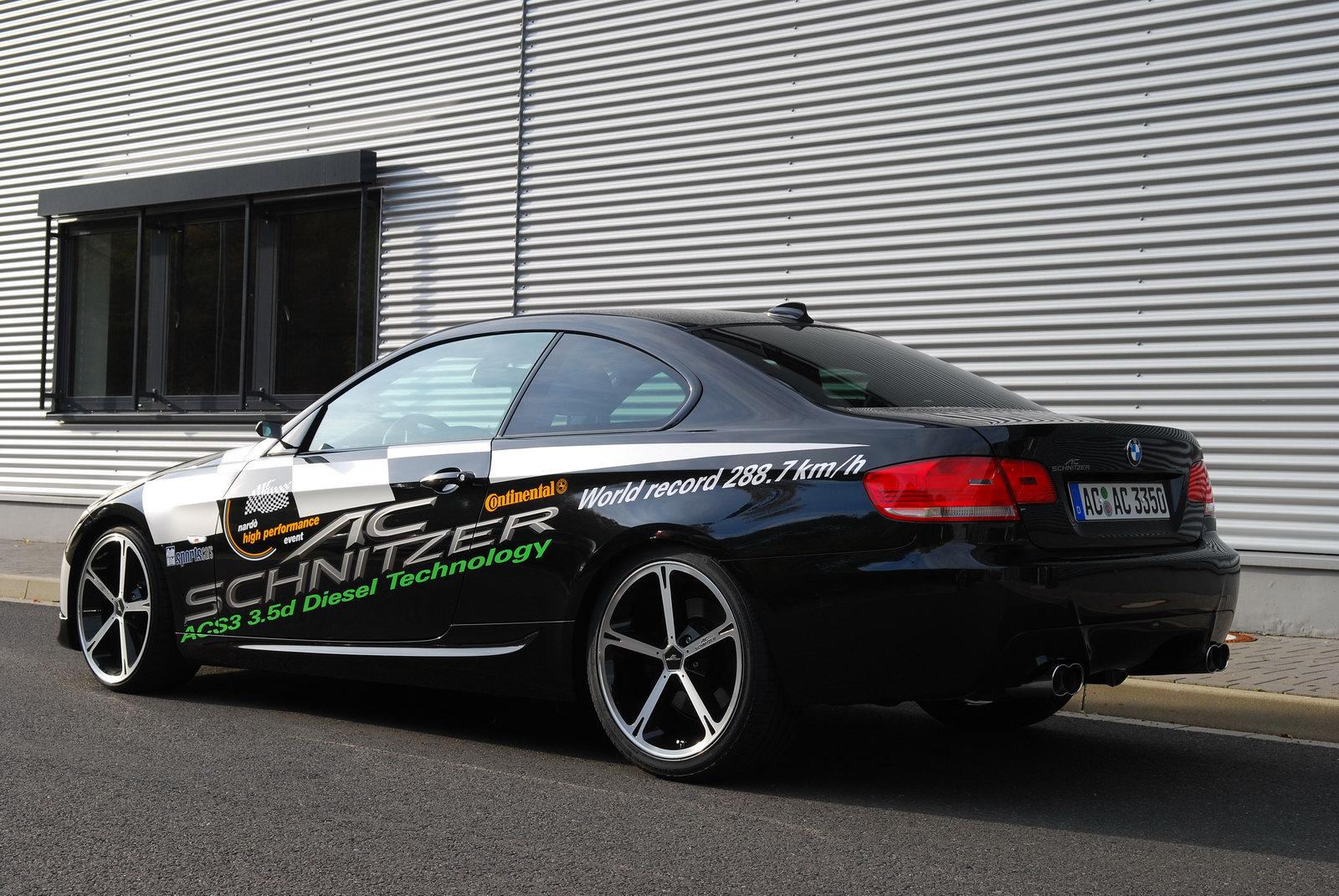 AC Schnitzer BMW 335d batte il record di Nardò