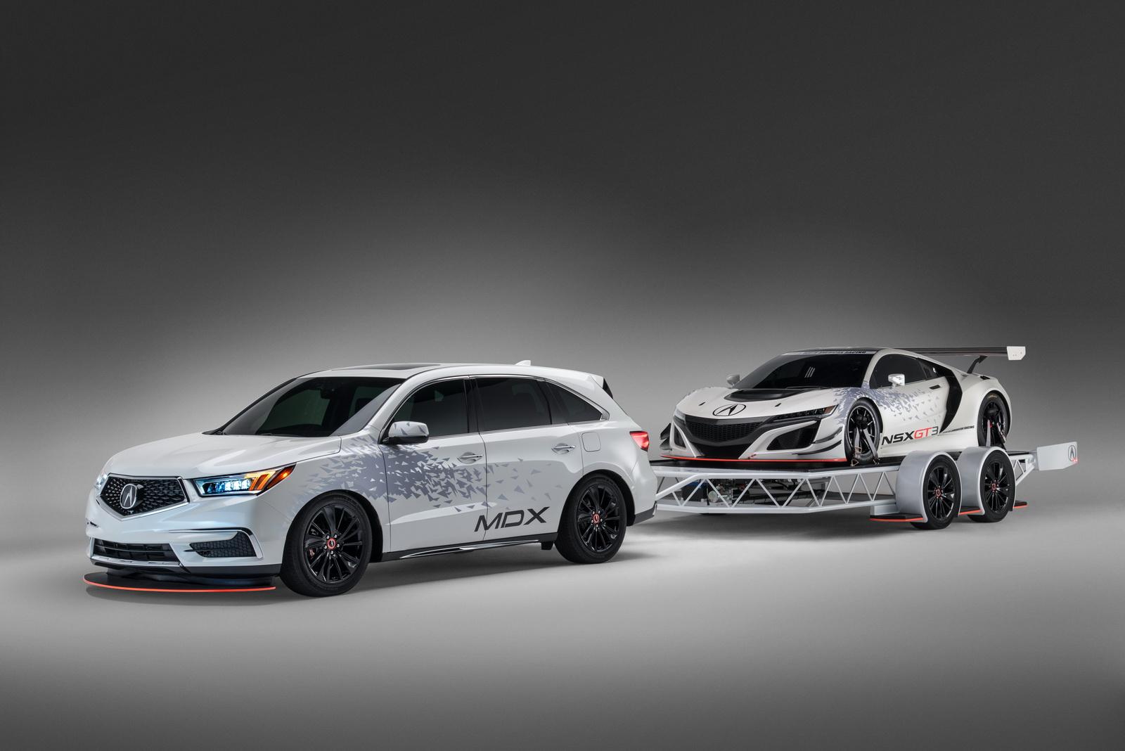 Acura NSX GT3 e MDX