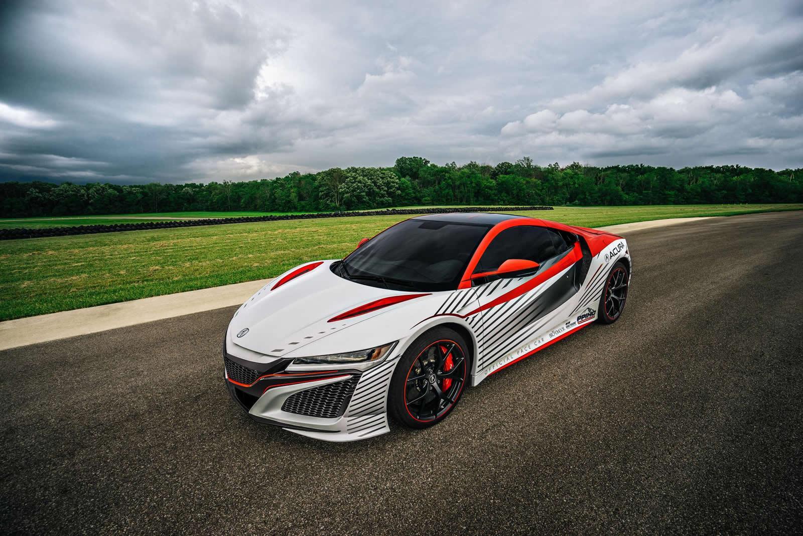 Acura NSX race car Pikes Peak