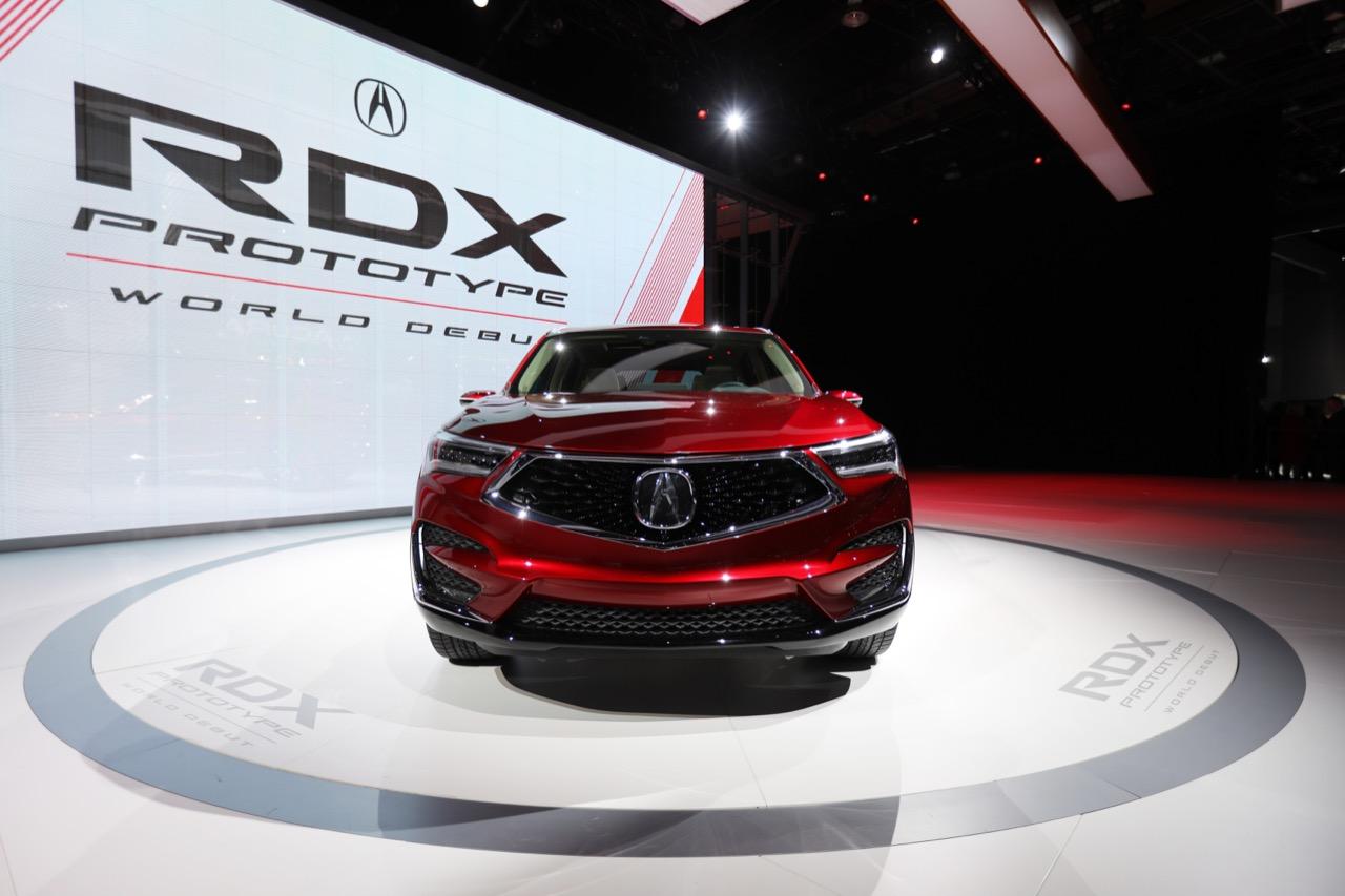 Acura RDX Prototype - Salone di Detroit 2018