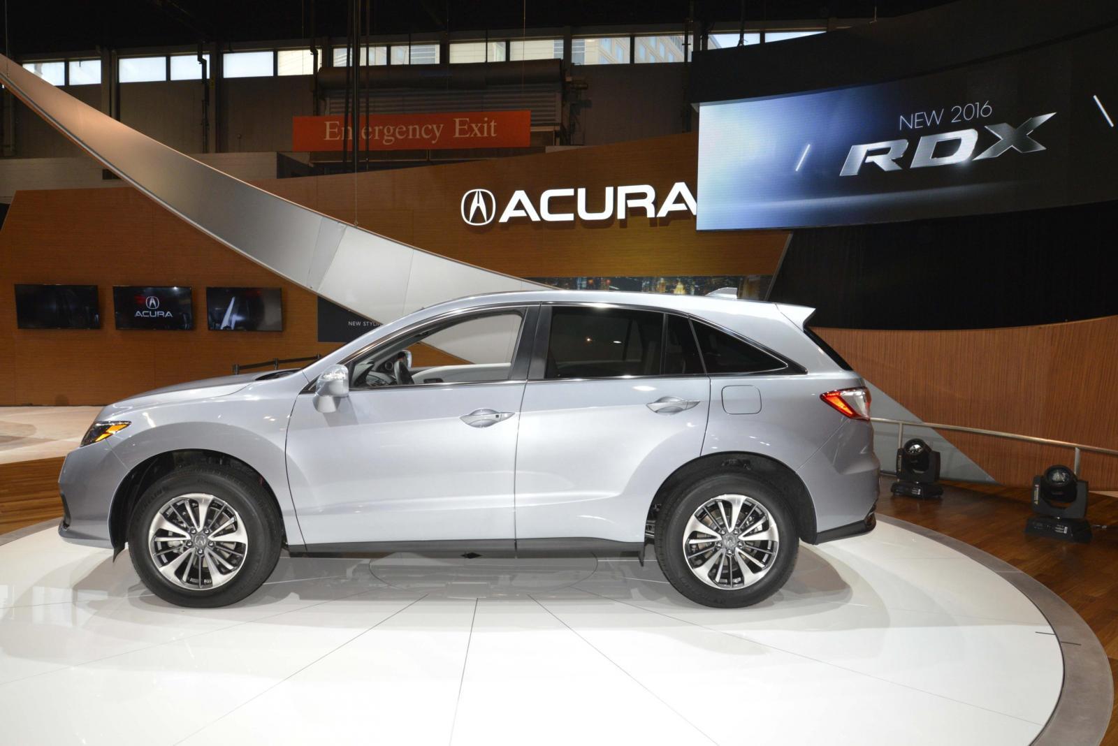 Acura RDX Salone di Chicago 2015