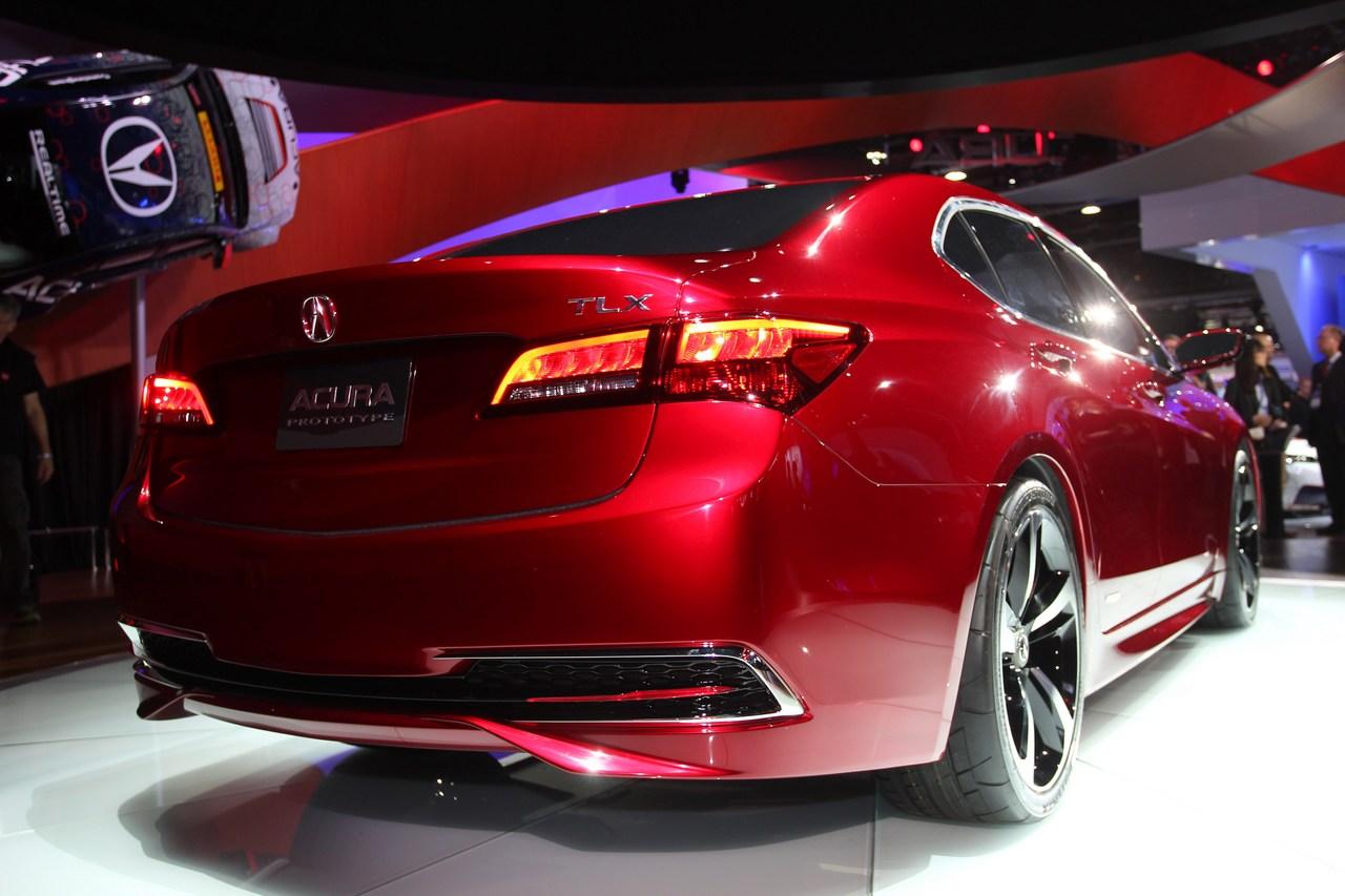 Acura TLX - Salone di Detroit 2014