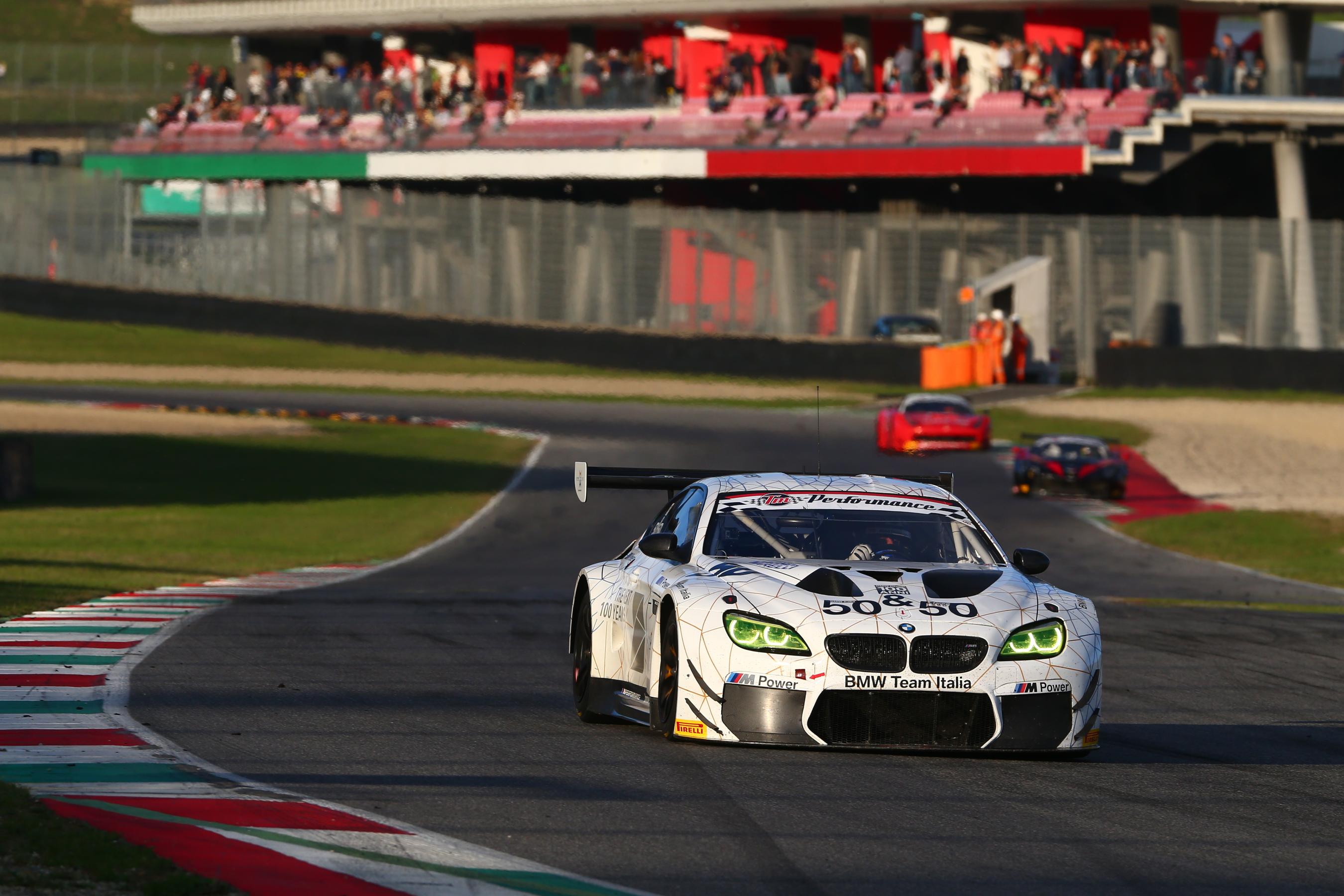Alex Zanardi - Campionato Italiano GT (Mugello 2016) - BMW M6 GT3 - BMW Team Italia