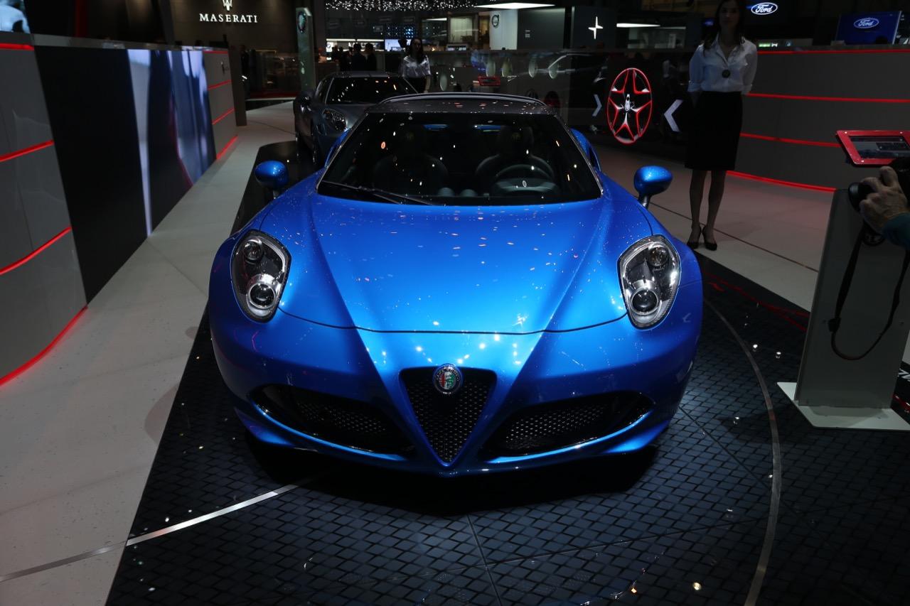 Alfa Romeo 4C Italia - Salone di Ginevra 2018