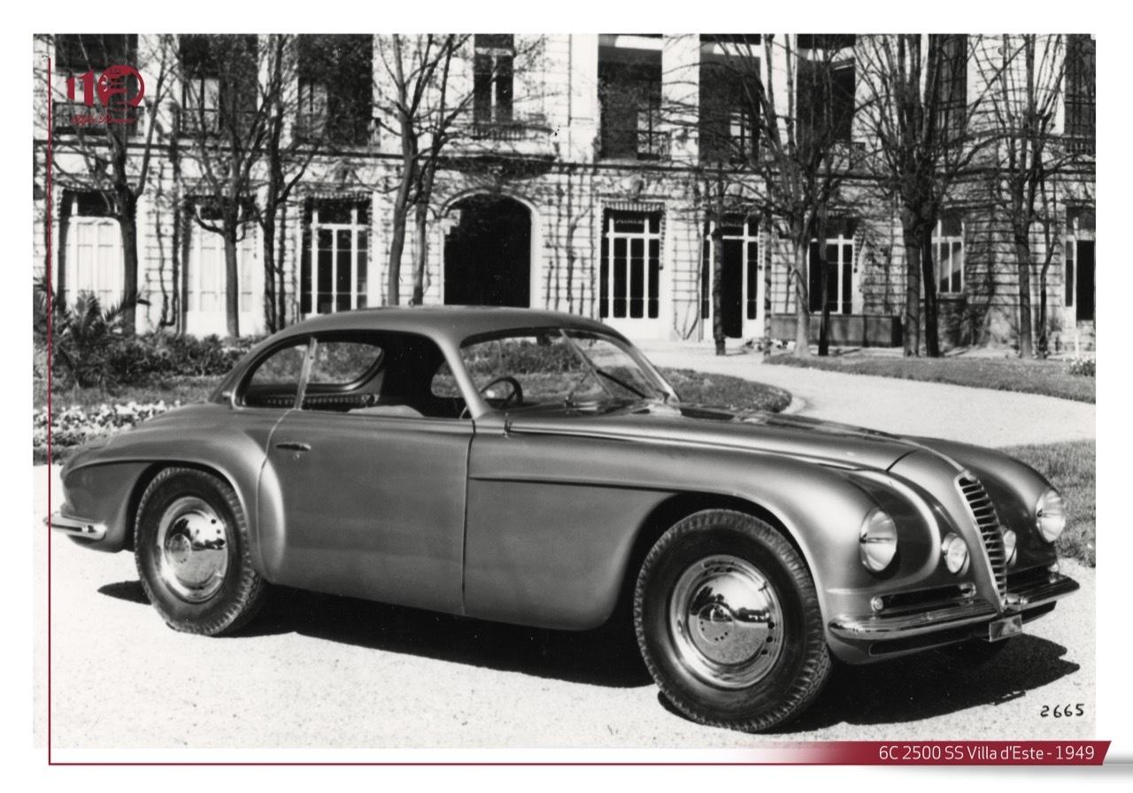 Alfa Romeo 6C 2500 - Storie Alfa Romeo foto storiche