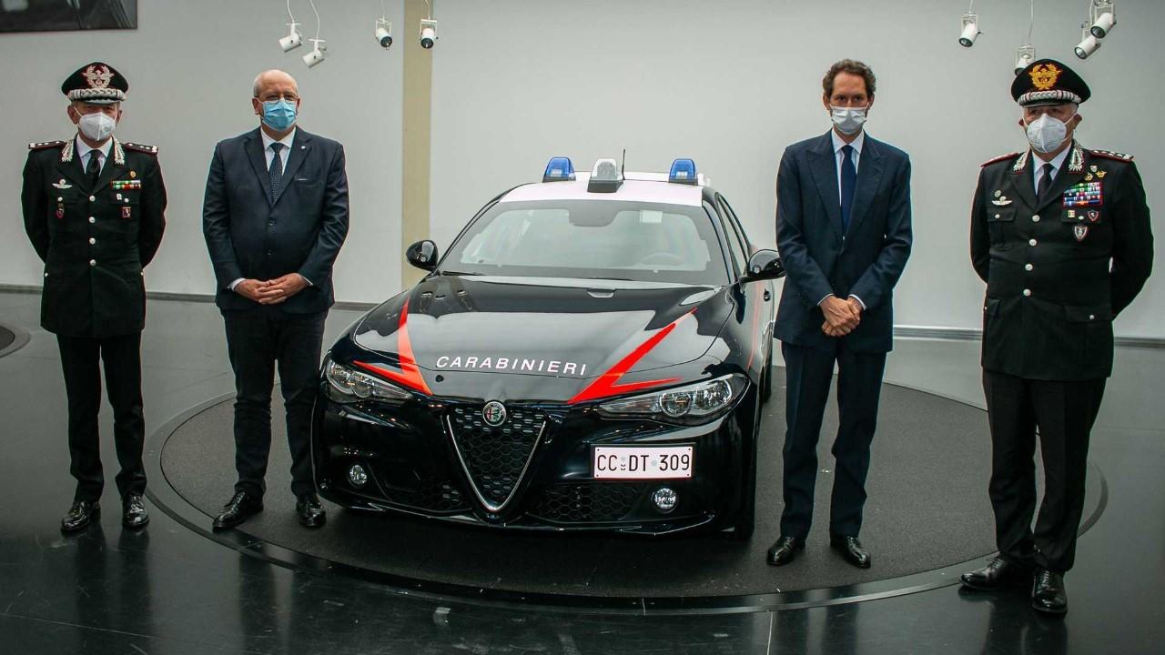 Alfa Romeo Giulia Carabinieri - Maggio 2021