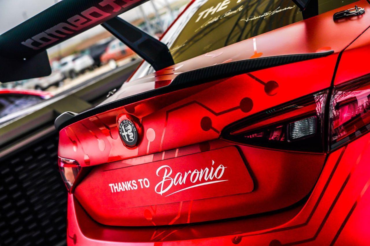 Alfa Romeo Giulia ETCR - Romeo Ferraris