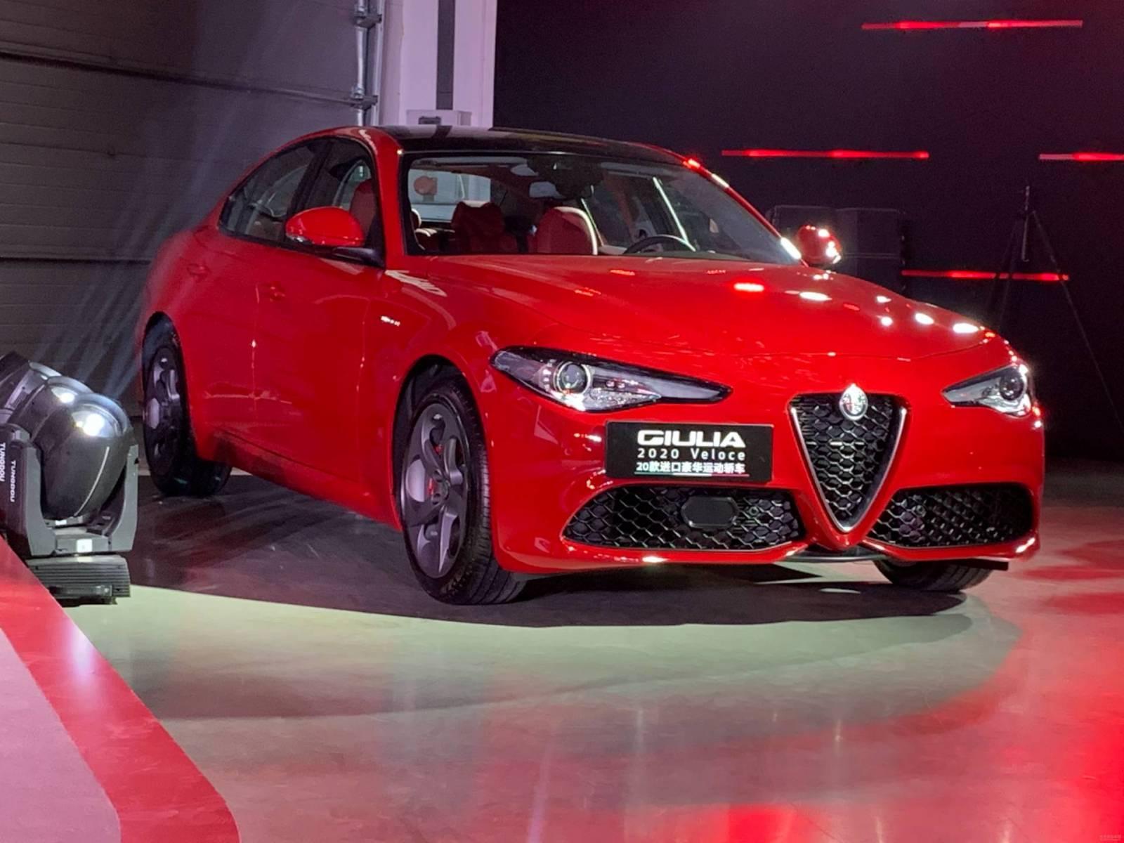 Alfa Romeo Giulia MY 2020 - Versione cinese